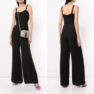 Self Portrait- Sleeveless Black Jumpsuit